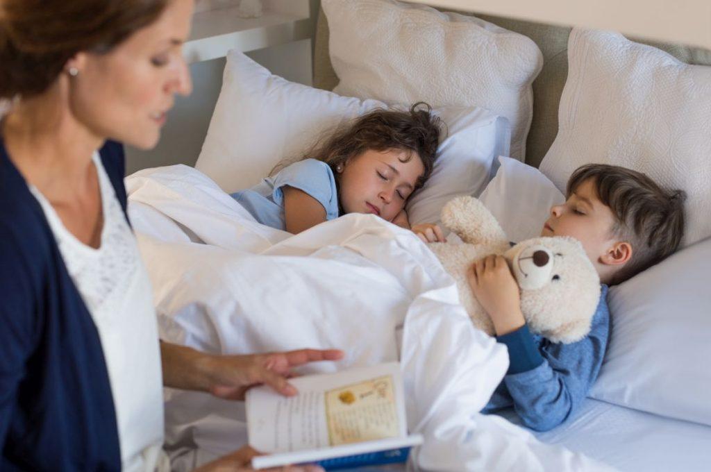 5 sposobów na spokojny sen dziecka